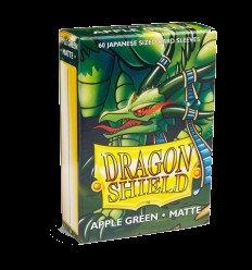 Protectores Dragon Shield Apple Green Matte Small