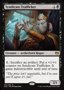 Syndicate Trafficker - Magic The Gathering