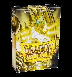 Protectores Dragon Shield Yellow Matte Small