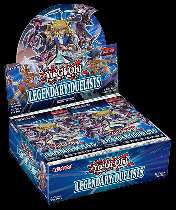 Display de sobres de Legendary Duelists Yu-Gi-Oh!