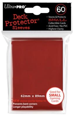Protectores Ultra Pro Rojo Small