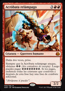 Acróbata Relámpago - Magic The Gathering