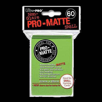 Protectores Ultra Pro Matte Verde Lima Small
