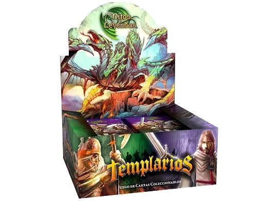 Caja de Sobres de 11 cartas de Templarios