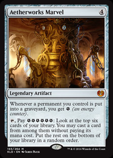 Aetherworks Marvel - Magic The Gathering