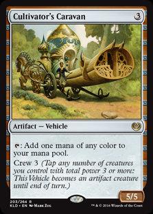 Cultivator's Caravan - Magic The Gathering