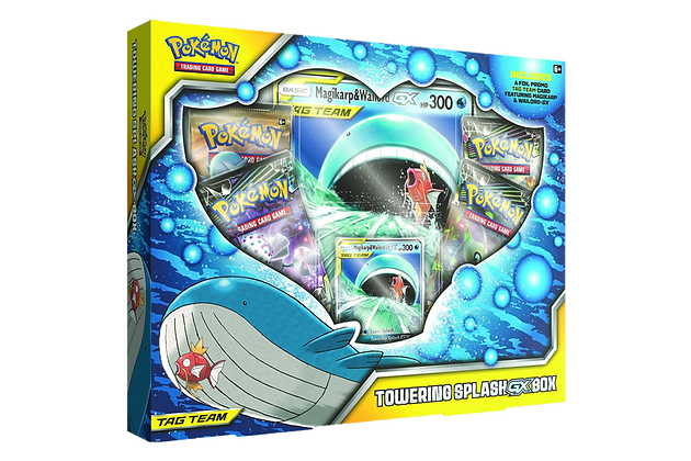 Towering Splash GX Box - Magikarp & Wailord