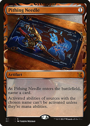 Pithing Needle - Magic The Gathering