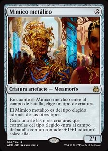 Mímico Metálico - Magic The Gathering