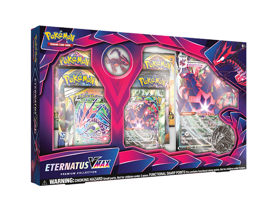 Eternatus VMAX Premium Collection Inglés.