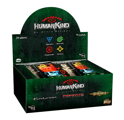 Display de 24 Sobres de Humankind.