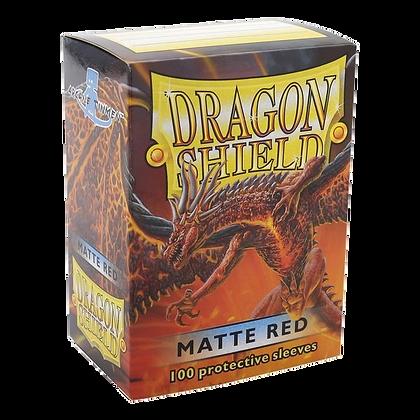 Protectores Dragon Shield Rojo Matte Standard