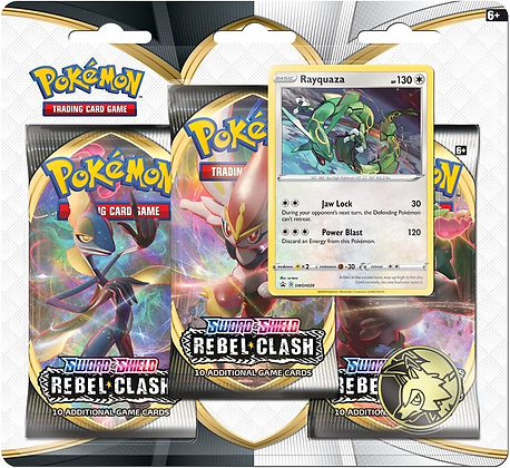 Blister Sword and Shield Rayquaza - Pokémon T.C.G.