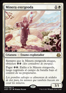 Minera Etergeoda - Magic The Gathering