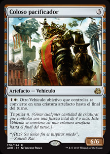 Coloso Pacificador - Magic The Gathering