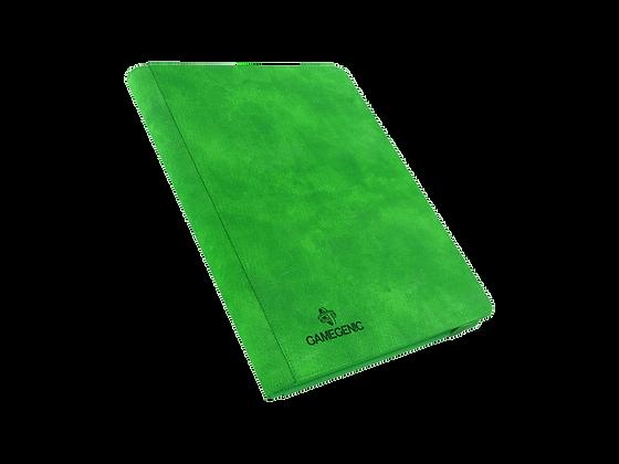 Álbum Zip-Up Verde 18 espacios 360 cartas.
