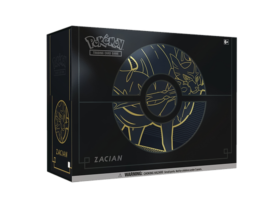 Elite Trainer Box Plus Zacian en Inglés.