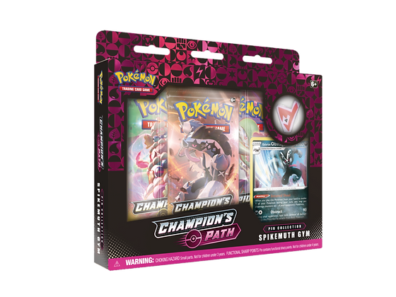 Champion's Path – Pin Collection Galarian Obstagoon Inglés.