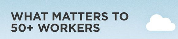 What Matters to 50+ Workers
