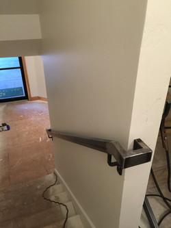 metal handrail corner