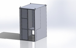 316 SS cabinet Model
