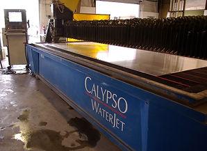 water jet cutting machine calypso