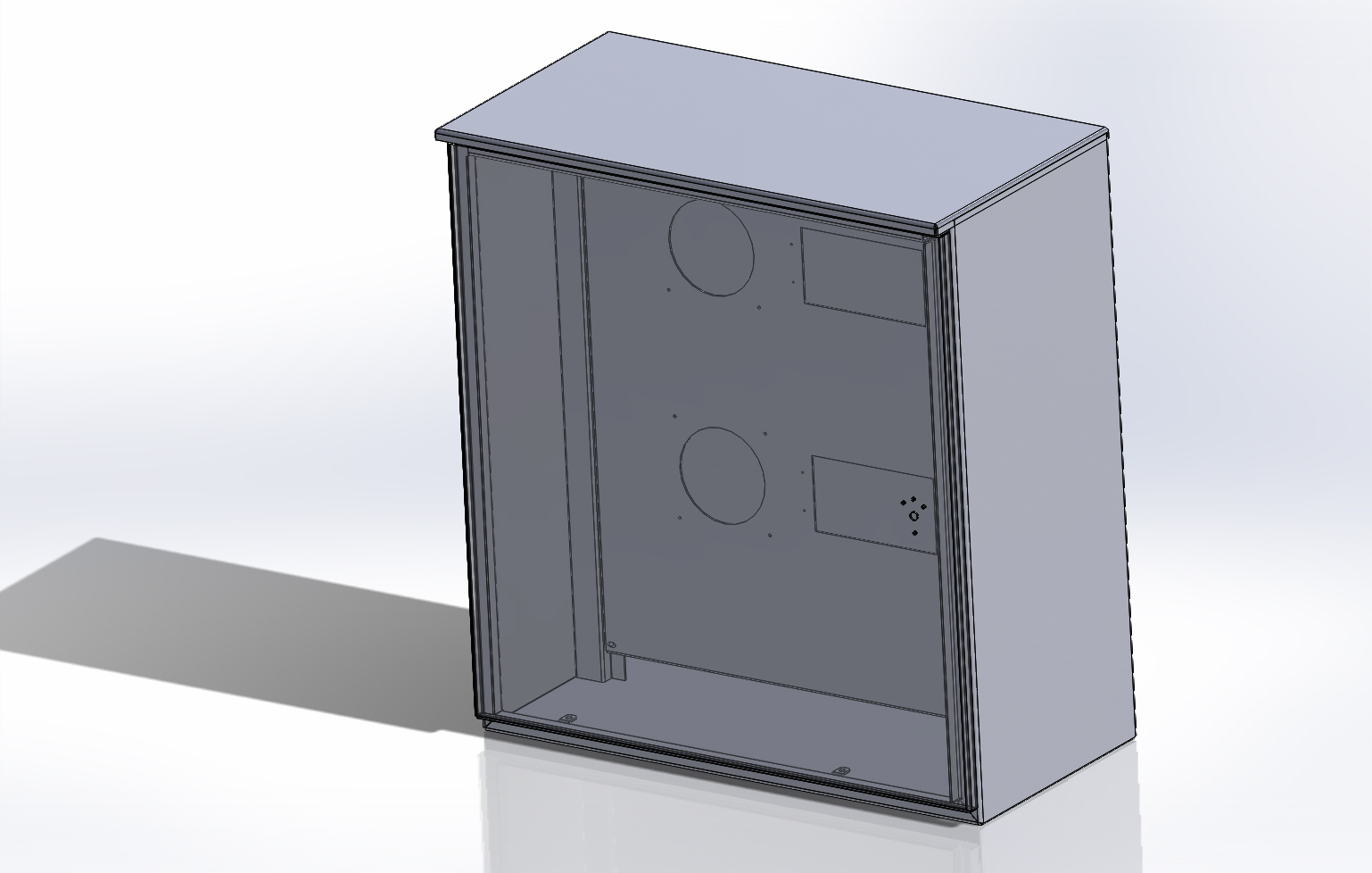 Aluminum Cabinet Assembly