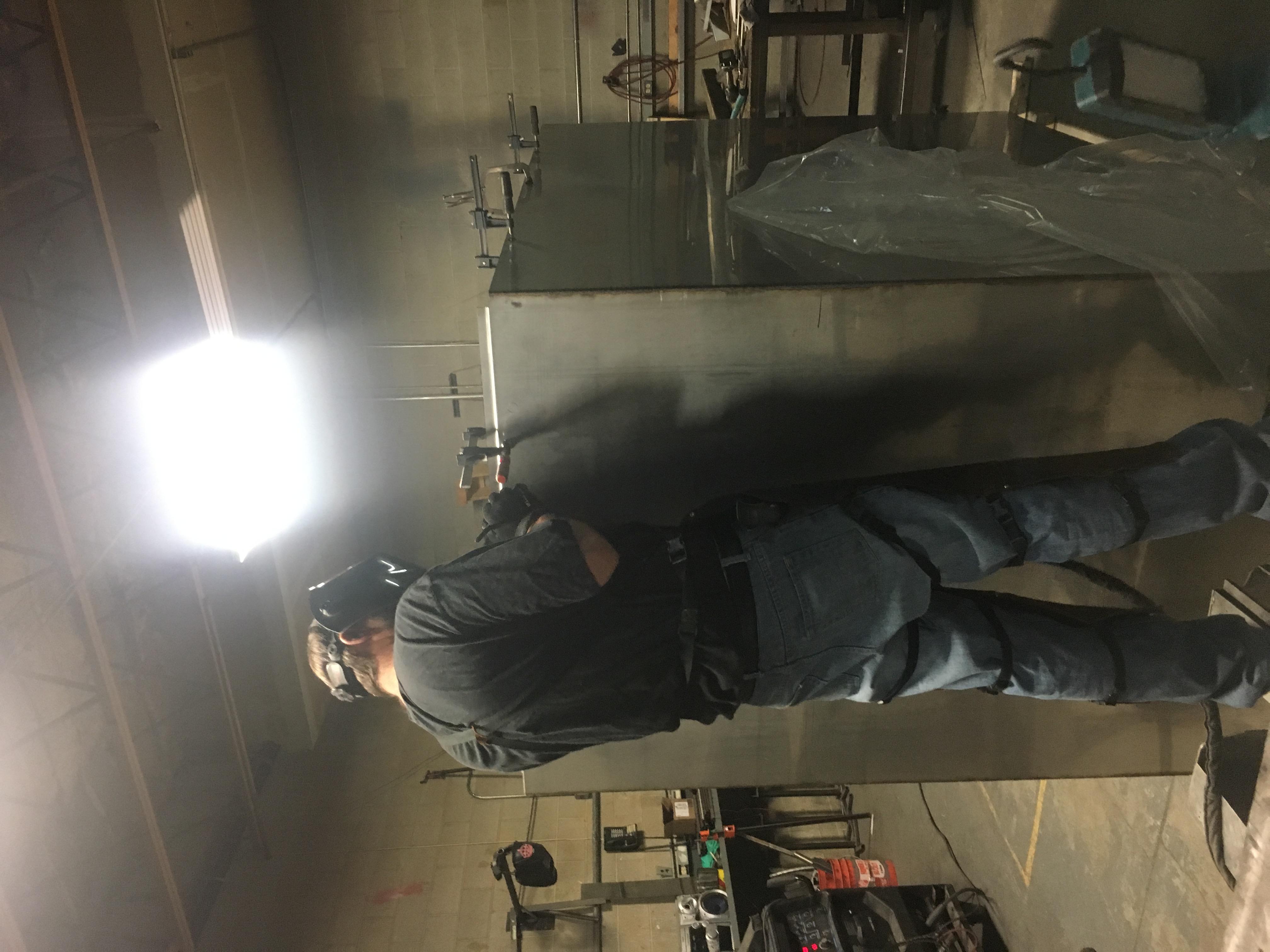 metal cabinet welding