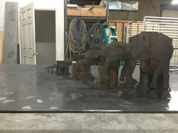 Laser cut AT-AT big to small