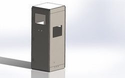 Model for SS Cabinet