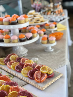 Charming Dessert Display
