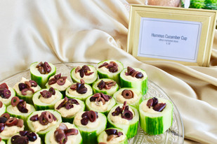 Hummus Cucumber Cup