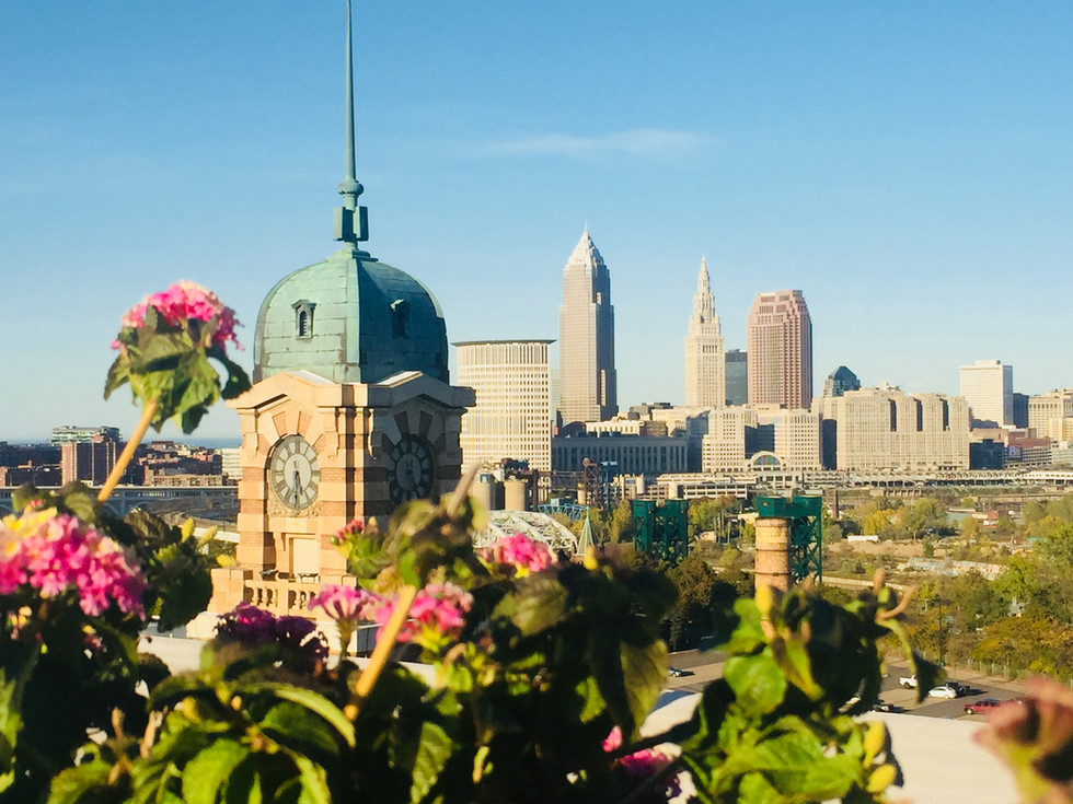 Stunning View Of Cleveland