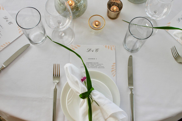 Place Setting With Elegance
