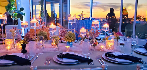 Tablescape at Sunset