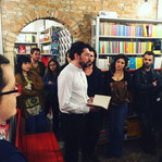 Reading at Marco Polo Libreria in Venice