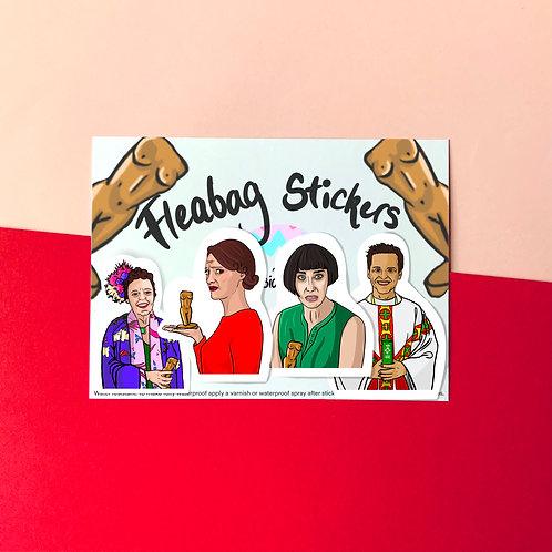 Fleabag Vinyl Stickers