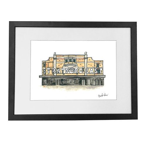 Theatre Royal Stratford East Print