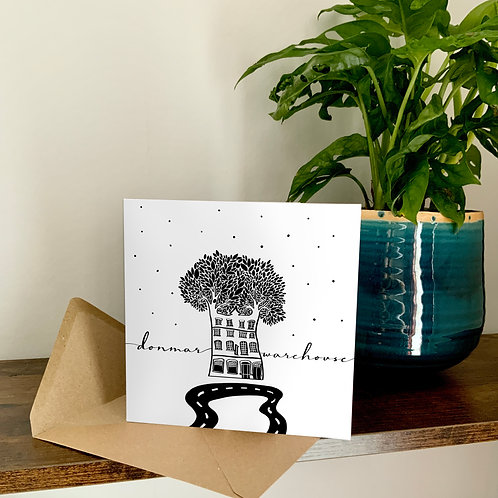 Donmar Warehouse Abstract Architecture Treetop Card