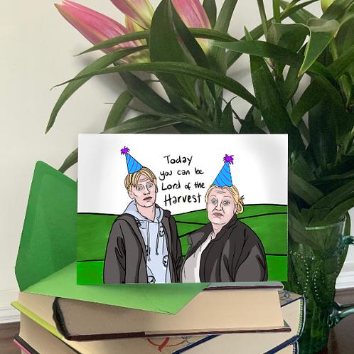 This Country BBC3 Kerry & Kurtan Mucklowe Birthday Card, Congratulations Card