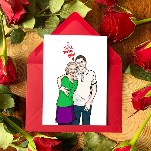 Gavin and Stacey Valentine's Card