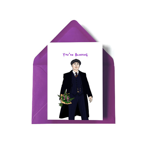 Tommy Shelby from 'Peaky Blinders' Mother's Day Card