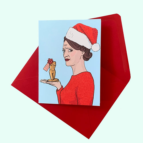 Fleabag Christmas Card