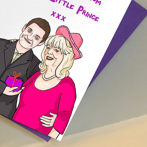 Gavin and Pam from 'Gavin and Stacey' Mother's Day Card