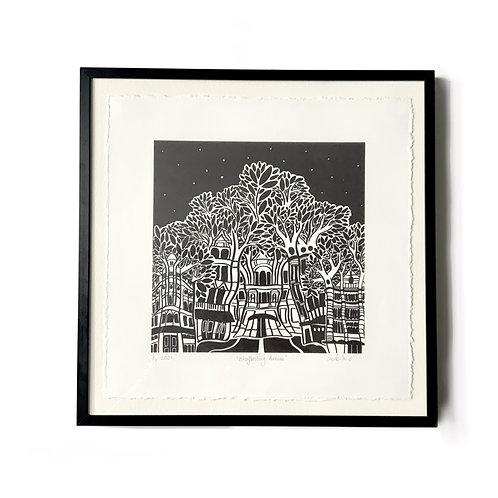 'Shaftesbury Avenue' Numbered Print