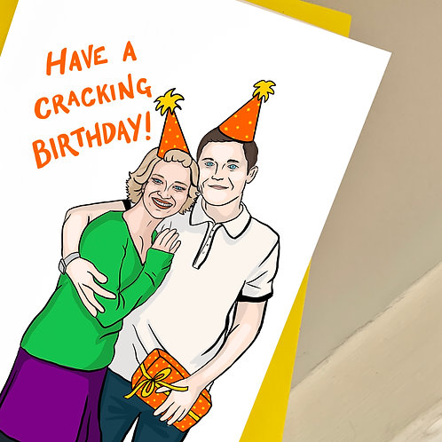 Gavin and Stacey Birthday Card