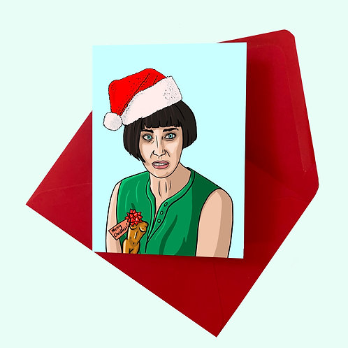 Fleabag's Sister Claire Christmas Card