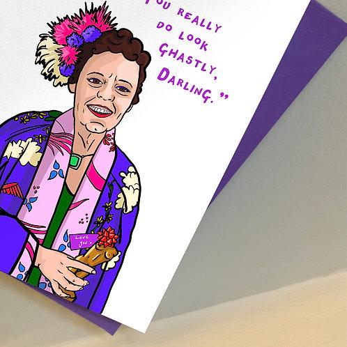 Fleabag's Godmother Mother's Day Card