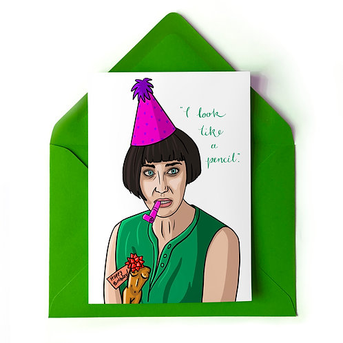 Fleabag's Sister Claire Birthday Card