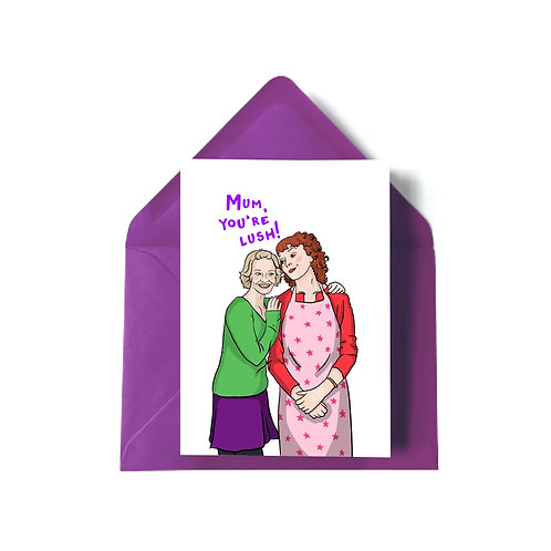 Stacey and Gwen from 'Gavin and Stacey' Mother's Day Card